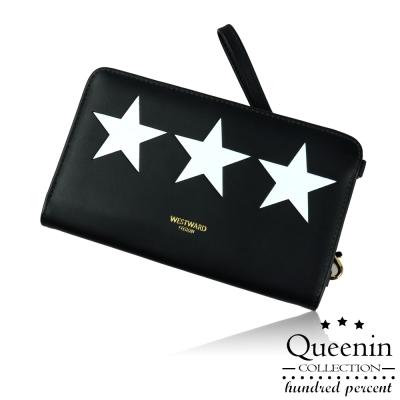 DF Queenin皮夾 - 星星系5吋手機可放隨身包-共3色