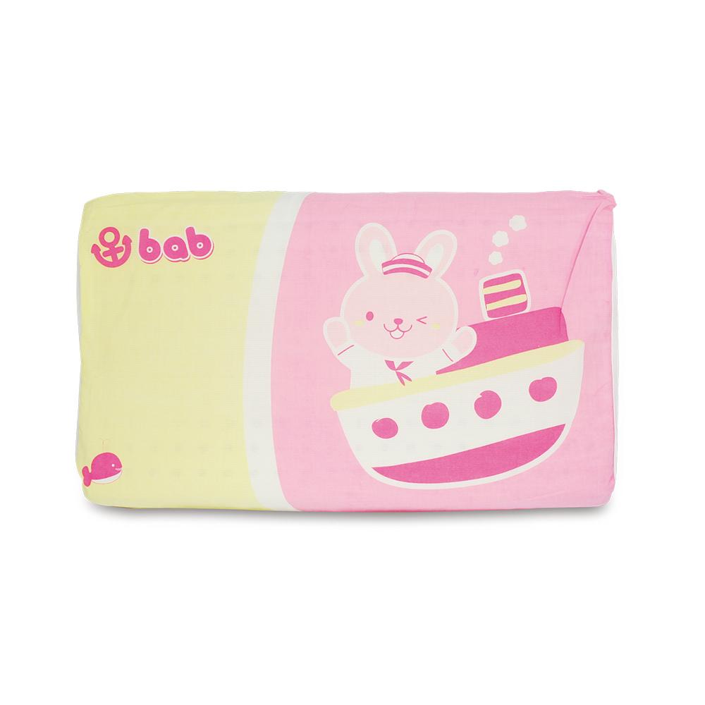 培寶超舒眠乳膠健康枕-粉紅色