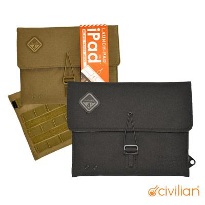 Civilian-Hazard-4-LAUNCH-PAD-軍規風格-iPad-專用保護套