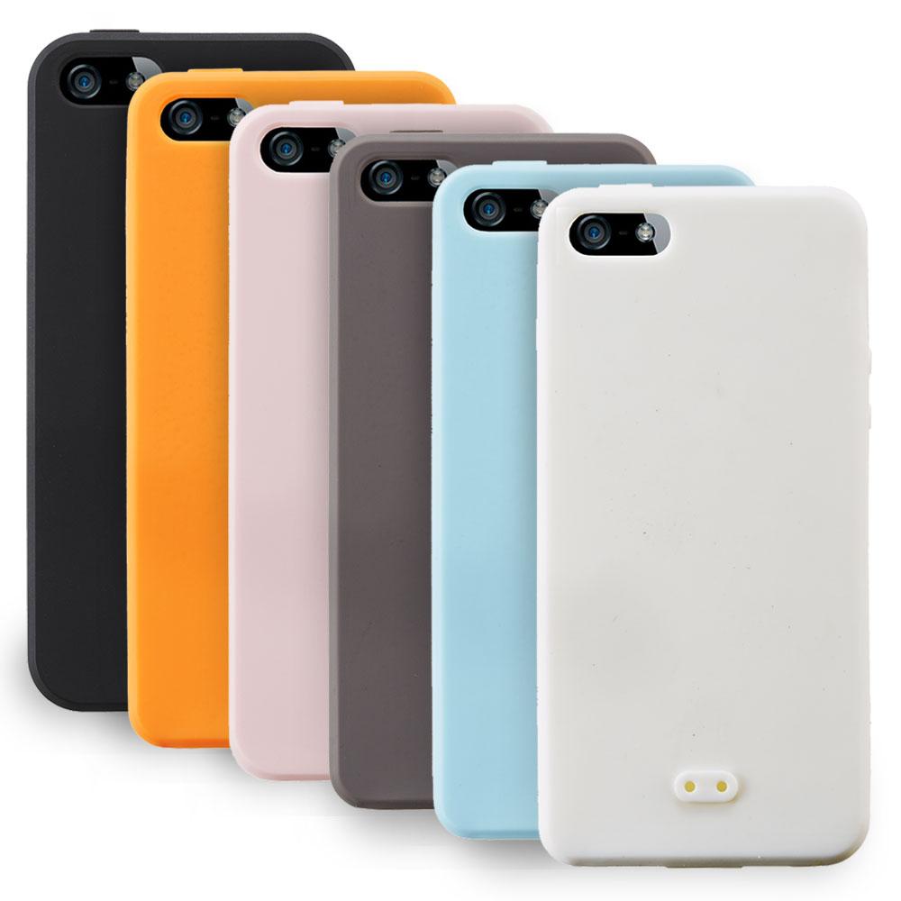 Simplism IPHONE 5/5S/SE 矽膠手機殼+保護貼