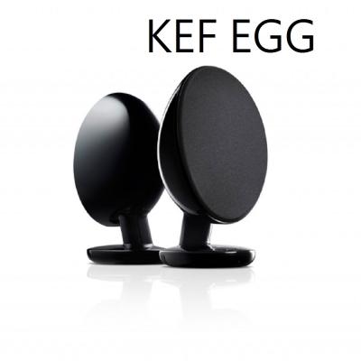 KEF EGG 主動式 藍芽多媒體喇叭(黑色)