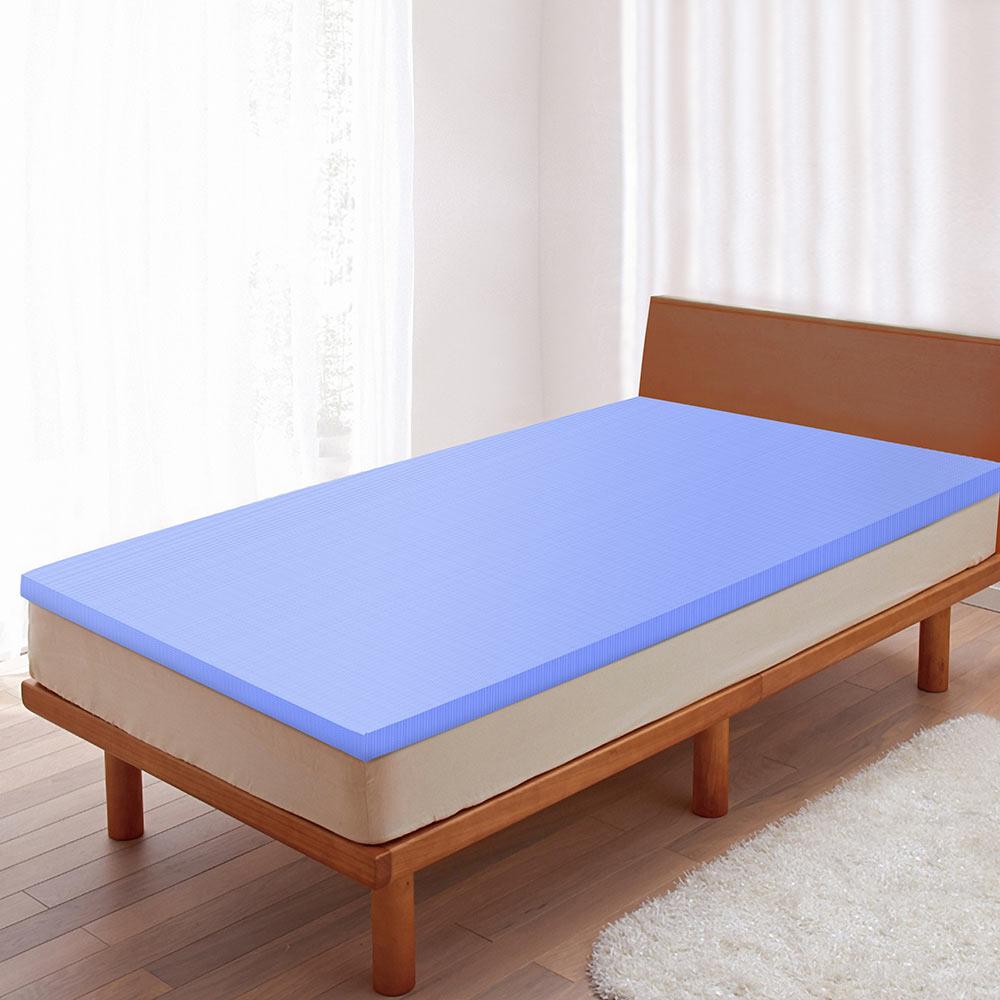 LooCa 美國Microban釋壓12cm記憶床墊-單人