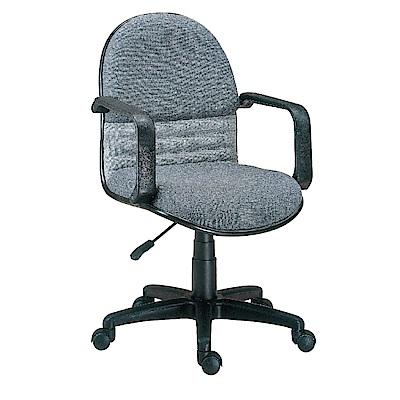 GD綠設家 希莫爾亞麻布雙色辦公椅-57x46x87cm免組