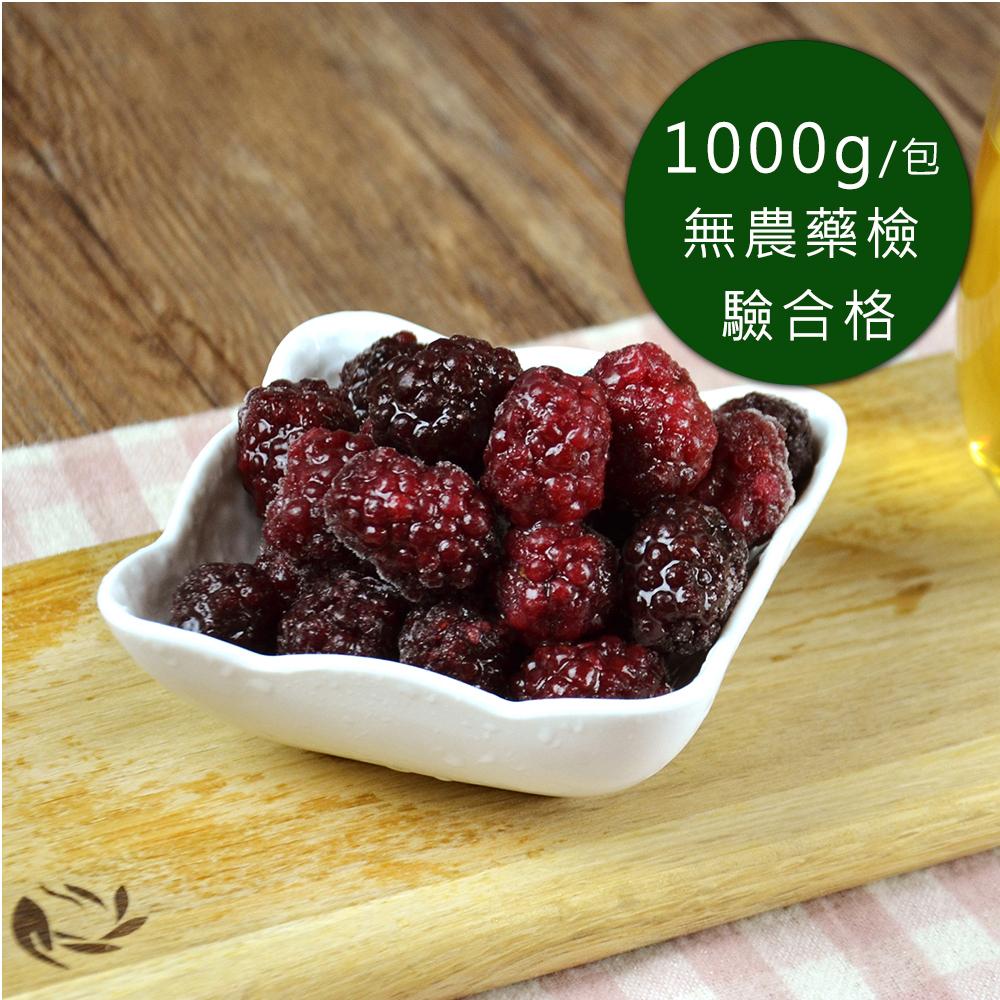 (任選880)幸美生技-冷凍黑莓(1000g/包)