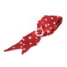 Brosway  Grace 紅白點絲巾