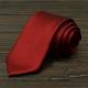 拉福   斜紋領帶8cm寬版領帶手打領帶 (紅) product thumbnail 1