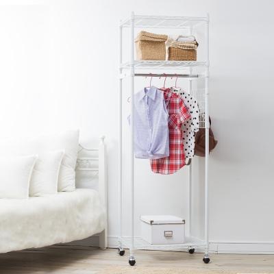 樂活家 日式荷重型開放式衣櫥架61x53.5x187CM