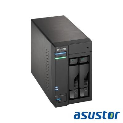 ASUSTOR華芸 AS6202T 2Bay NAS網路儲存伺服器