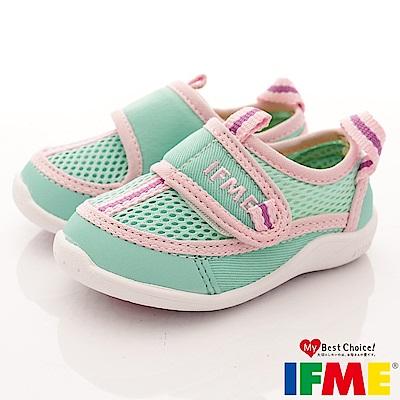 IFME健康機能鞋 排水速乾款 EI00355淺綠(寶寶段)