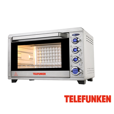TELEFUNKEN 德律風根45公升溫度顯示烤箱 LT-TOV1738