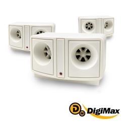 DigiMax 貓頭鷹 電池式 超音波驅鼠蟲器3入組 UP-119