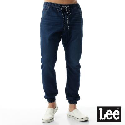 Lee 運動休閒牛仔褲/UR-男款-深藍