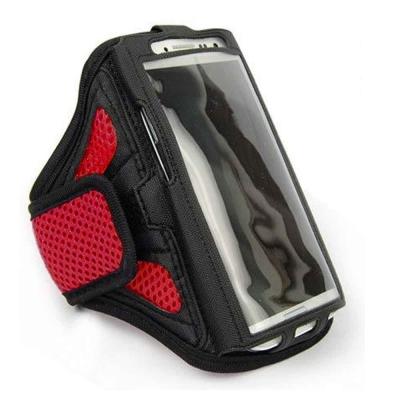 Yourvision HTC U11 5.5吋 運動防護臂套 臂帶(紅色)