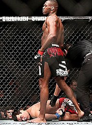 The last fight between Jon Jones and Lyoto Machida didn't end well for Machida.