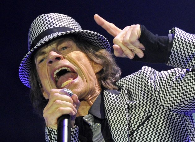 The Rolling Stones perform at the O2 Arena in London
