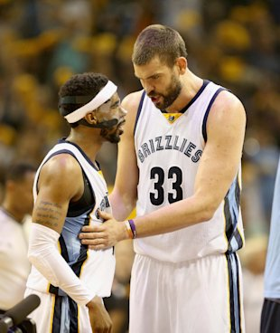 Can Mike Conley and additionally the re-signed Marc Gasol keep the Grizzlies inside the title hunt? (Andy Lyons/Getty Images)