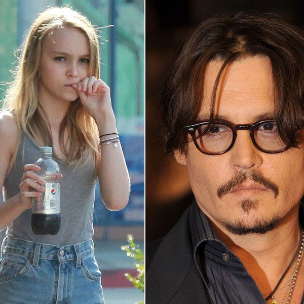 Johnny Depp and Lily Rose