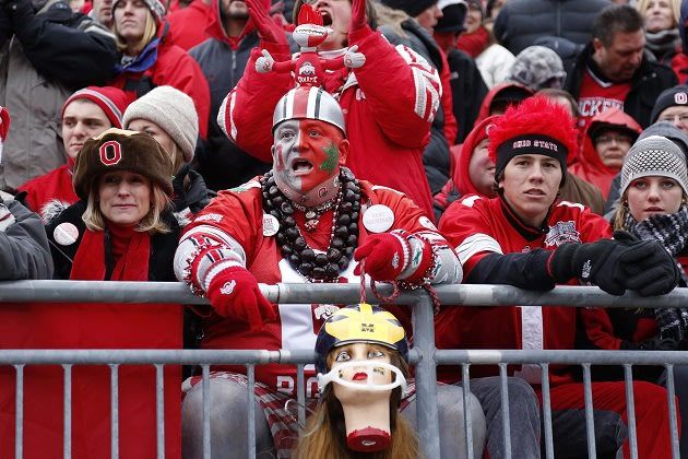 Image result for ohio state fan