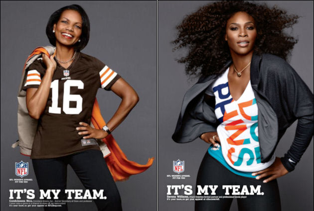 High-powered women model new NFL gear. - Tennis Planet.me e20c7ddb8