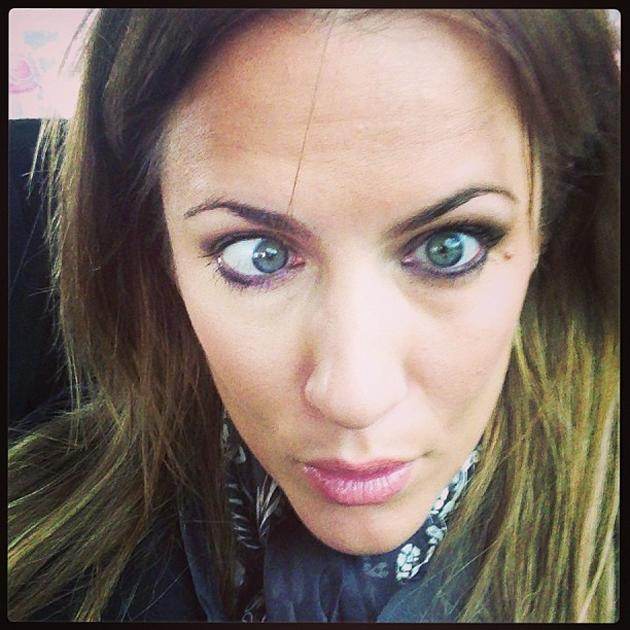 Caroline Flack Posted A Photo Of Herself Going Cross Eyed