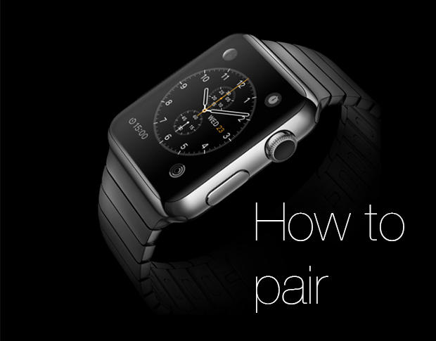 How To Pair Apple Watch To Iphone