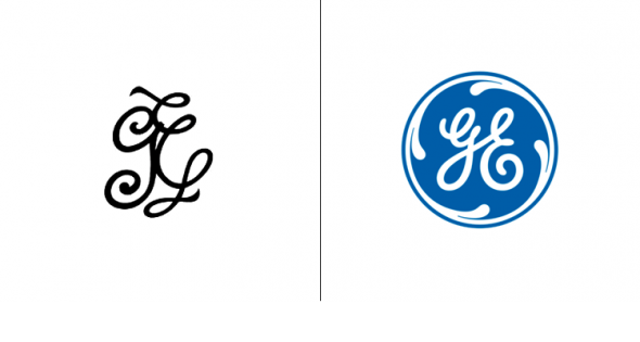 What 20 Top Companies' Logos Looked Like Before They Were Famous
