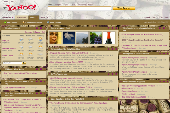 Developing for My Yahoo! - YDN