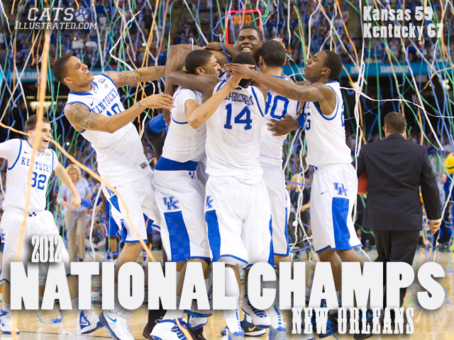 Wildcatrob S Kentucky Wallpaper Blog: 2012 Champs Wallpaper